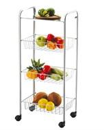 Fruteira Cromada Frutta e Verdure 3 Cestos Future - 254