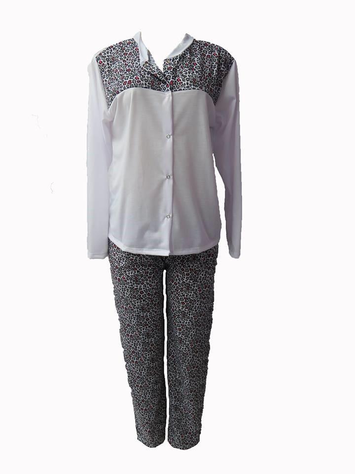ec5ab9396 PIJAMA LONGO BOTAO - comprar lingerie - preço rio de janeiro
