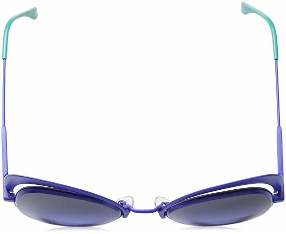 Fendi Eyeshine - Armação Metal Azul, Lentes Azul - PJPGB - Comprar ... 8704812d63