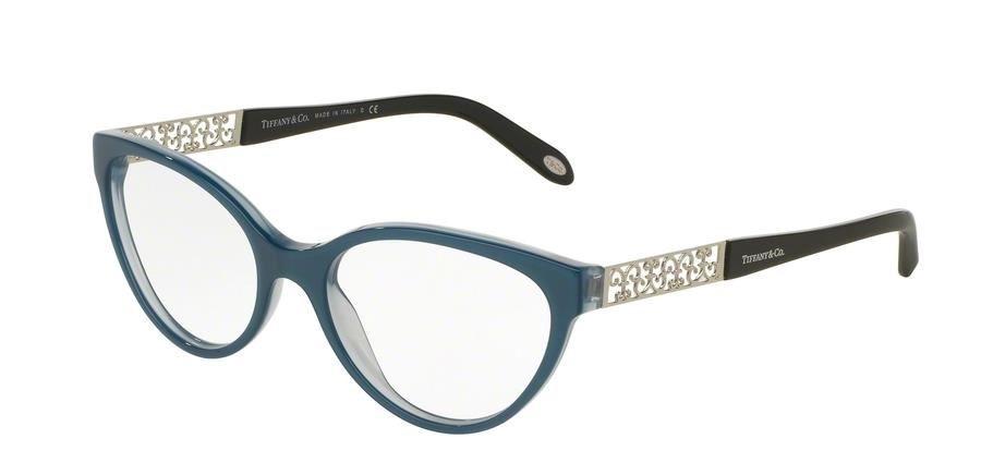 cc44a07550e66 Tiffany 2129 - Armação Acetato Azul - 8189 - Comprar - Preço Santa ...