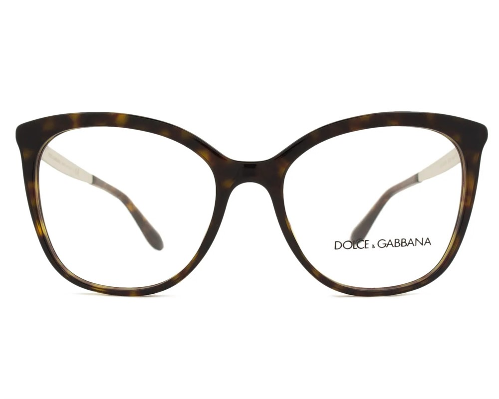 dabdd7ba9b6db Dolce   Gabbana 3278 - Armação Acetato Tartaruga - 502 - Comprar ...
