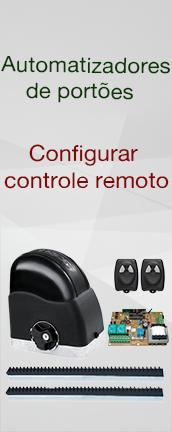 Automatização de Portões : Configurar controle remoto