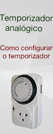 Temporizador : Como configurar
