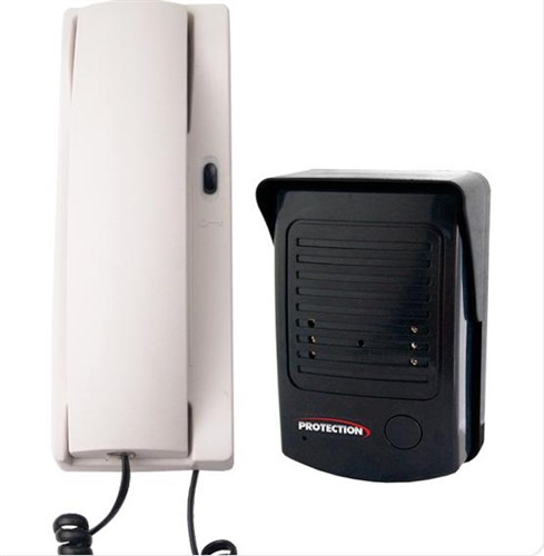 Porteiro Eletrônico Simples instalação  2 fios Protection
