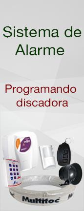 Sistema de alarme : Programando a discadora