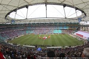 Fonte Nova – Melhor Arena da Copa do Mundo.