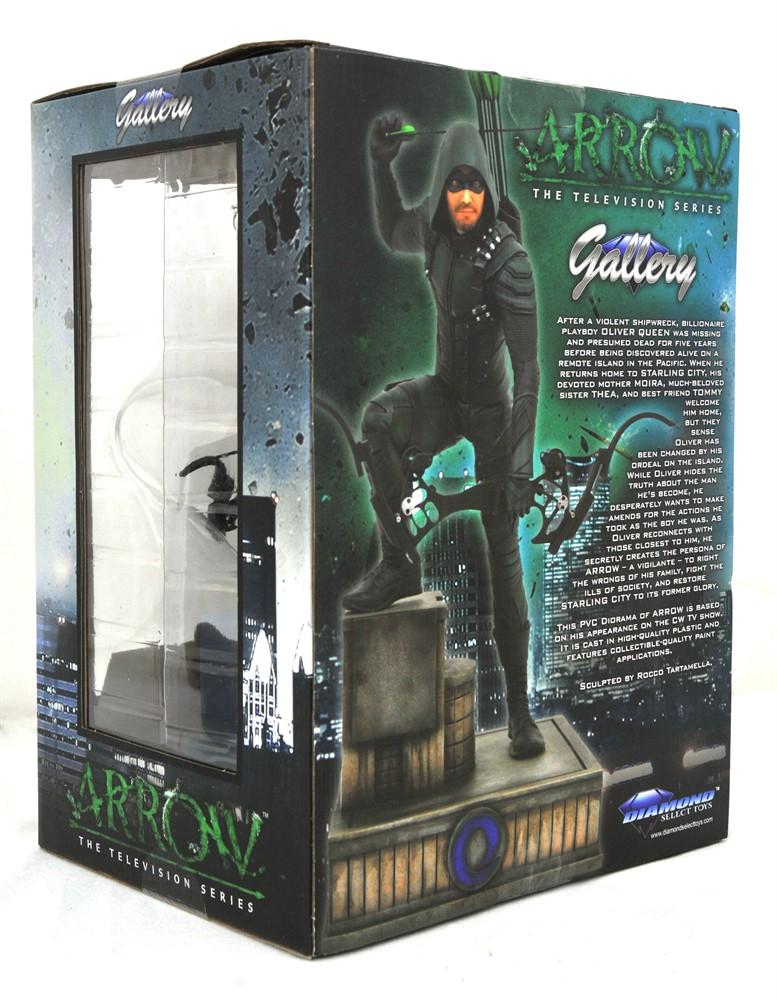 Green Arrow Arqueiro Verde TV Series DC Comics Gallery Statue