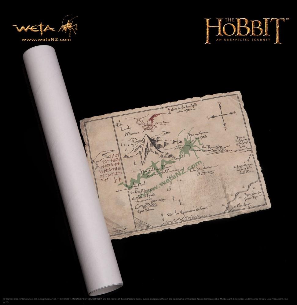23b1b39d6 Mapa de Thorin - O Hobbit - Weta - Comprar - Preço São Paulo