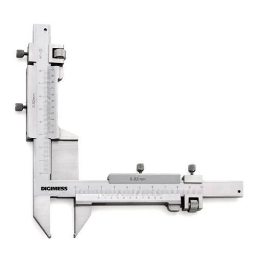 Paquímetro Dentes de Engrenagem 1-25MM Cod.100.283
