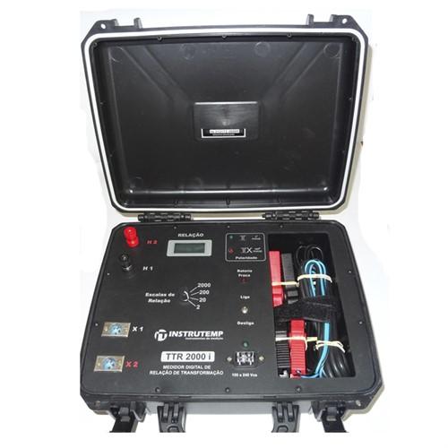 Medidor de Relação de Transformadores ITTTR-2000R
