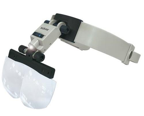 Lupa de Cabeça SLC-1010 LED