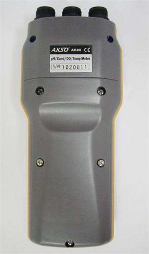Medidor Multiparâmetro à Prova d'Água (pH/Cond/OD/Temp) Mod. AK-88