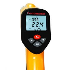 Termômetro Infravermelho - 50ºC a +1.650ºC - HM-88F