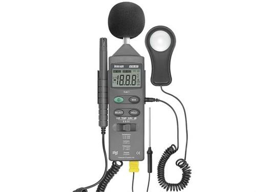 Termo-Higro-Decibelímetro-Luxímetro - HTM-401 + Certificado de Calibração com Padrões Rastreaveis ao Inmetro/RBC