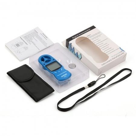 Termo-Higro-Anemômetro Digital Mod. KR-825