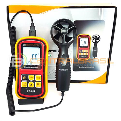 CB-817 Termo-Anemômetro Digital