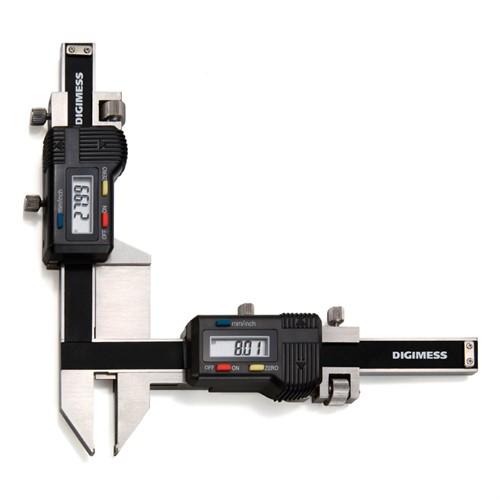 Paquímetro Digital (Dentes de Engrenagem) 1-25MM Cod.100.280