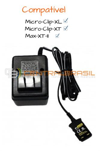 Carregador de Bateria para Detector de Gás Micro-Clip-XL
