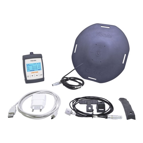 Vibrate Medidor de Vibrações Ocupacionais VCI e VMB - Corpo Inteiro