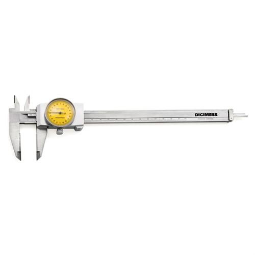 Paquímetro Com Relógio (Metal Duro) 150X0,02MM Cod.100.040