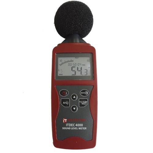 Locação de 1 unidade do equipamento Decibelímetro Digital Portátil ITDEC-4000 ou similar