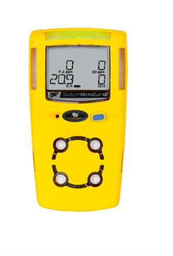 Locação de 1 unidade do equipamento Detector de 4 gases Microclip XL ou similar