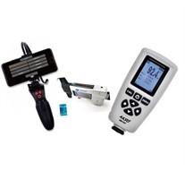kIt para vistoria Paquímetro Digital Profundímetro (Sulcos de Pneu) + Boroscópio com WIFI + Medidor de Espessura + CERTIFICADO RBC (ATENDE PORTARIA DETRAN SP Nº 68)