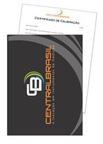 Certificado De Calibração para Medidor de Espessura de Camada
