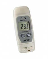 Datalogger de Temperatura e Umidade com Conexão USB Direta - AK172 mini