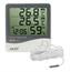 AK28 NEW Termo-Higrômetro Digital com Sensor externo e Relógio