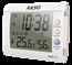 Termo-Higrômetro Digital com Relógio e Alarme Mod. AK-27 (várias cores)
