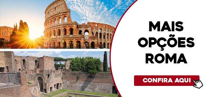 Mais opções Roma