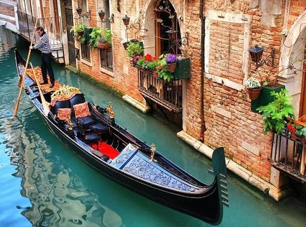 Passeio em Veneza