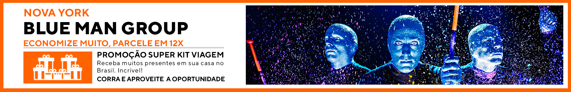 blue man nova york