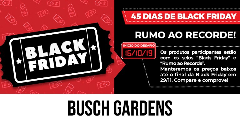 Busch Gardens BlackFriday