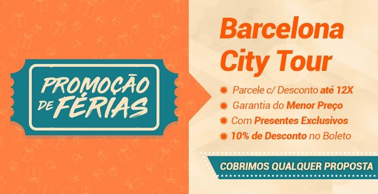 Barcelona City Tour Férias