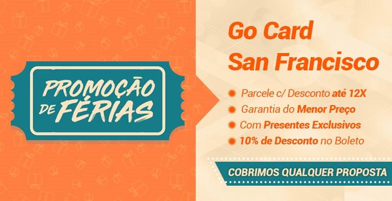Férias Go Card San Francisco