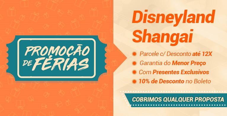 Disneyland Shangai Férias