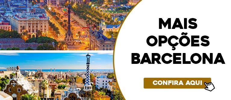 Mais opções Barcelona