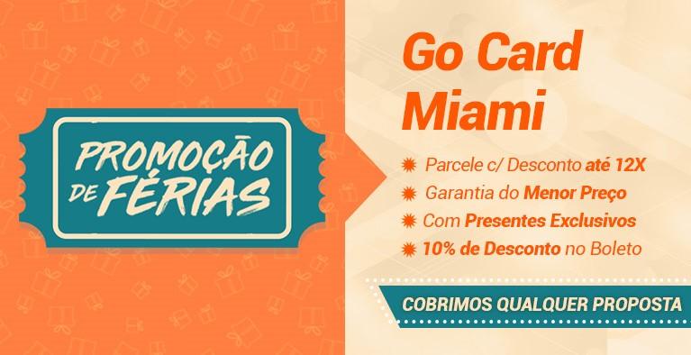 Go Card Miami Férias