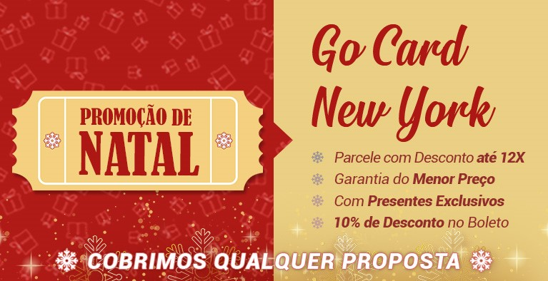 Go Card New York Natal