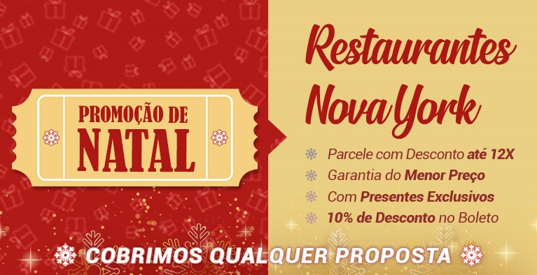 Restaurantes Nova York Natal