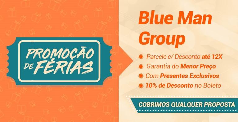 Blue Man Group Férias