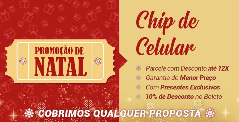 Chip + Internet Orlando Natal