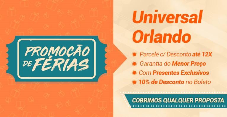 Férias Universal Orlando