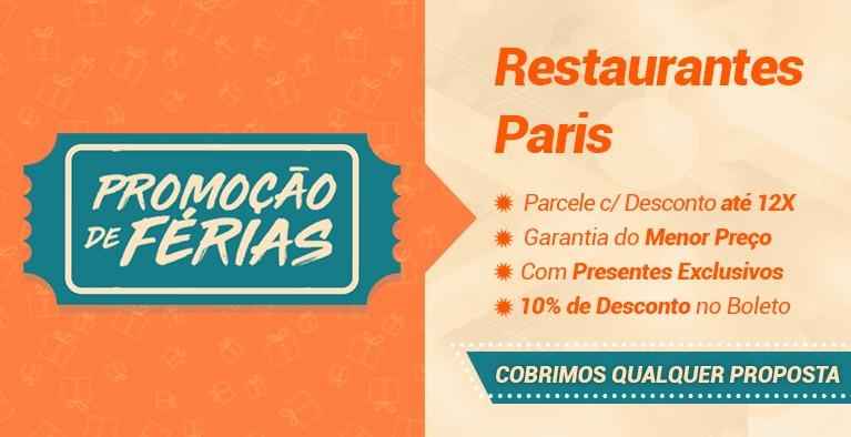 Restaurantes paris Férias