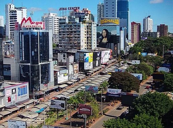 Compras em Paraguai