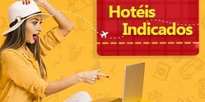 Aqui separamos os hotéis mais indicados e bem avaliados pelos nossos clientes.
