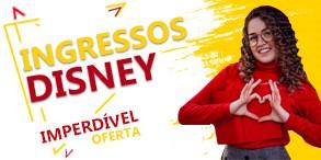 Super Promoção de Ingressos Disney. Oferta curta duração, corra e garanta já.