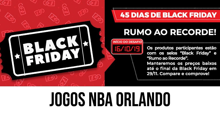 Jogos NBA Black Friday